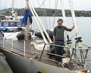 Captain Steve Kafka, of Dunedin, has returned to Dunedin after a seven-month voyage amid the...