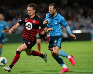 Western Sydney Wanderers defender Patrick Ziegler and Sydney FC forward Adam Le Fondre may play...