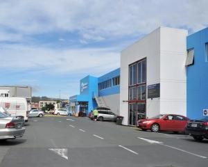 A block of buildings bought to make way for the new Dunedin Hospital, which tenants have to leave...