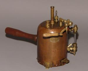 Inhalation sprayer manufactured by Dunedin engineering firm A. & T. Burt Ltd.