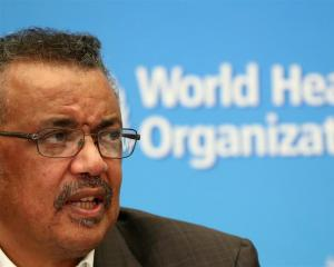 World Health Organization Director-General Tedros Adhanom Ghebreyesus. Photo: Reuters