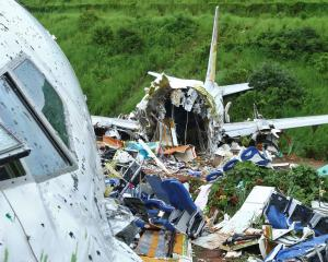 The plane crashed when it overshot the runway at the Calicut International Airport in Karipur,...