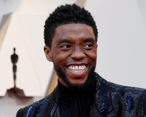 Chadwick Boseman at the 2019 Academy Awards. Photo: Reuters