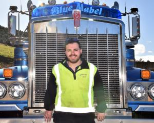Dynes Transport truck driver Alex Fraser was disappointed the Special Rigs for Specials Kids...
