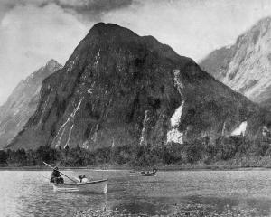 Arthur River, Milford Sound. — Otago Witness, 17.8.1920.