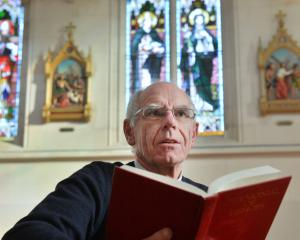 Bishop Michael Dooley is back at work after taking a two-month break to look after his own mental...