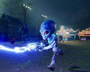 Destroy All Humans! has players taking the role of clone Cryptosporidium 137. Photo: Supplied