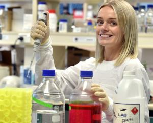 Evolutionary virologist Dr Jemma Geoghegan at the University of Otago's microbiology and...