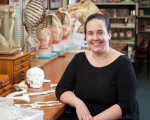University of Otago bioarchaeologist Associate Prof Sian Halcrow. Photos: Supplied