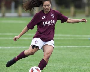 In the Women's Premier League, Mosgiel AFC are back at Memorial 1 hosting top of the table...