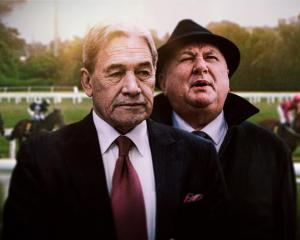 Minister of Racing Winston Peters and Regional Economic Development Minister Shane Jones. Photo:...