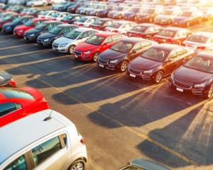 Monthly car sales are down and expected to remain depressed for some months ahead. Photo: Getty...