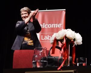 Former Labour prime minister Helen Clark delivers the ninth Dame Dorothy Fraser Lecture at the...