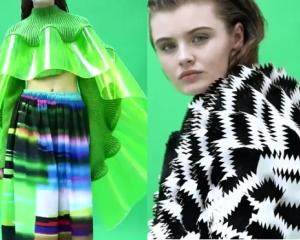 Two of Stina Randestad's designs from her winning collection Hybrid. Photos: Supplied