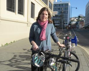 Kylie Huard is focused on making pedestrian journeys safer and more accessible. PHOTO: MAUREEN...