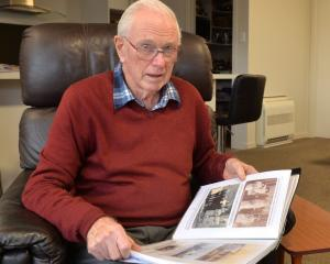 John Bradley, of Mosgiel, reflects on a family history he has created. PHOTO: LINDA ROBERTSON