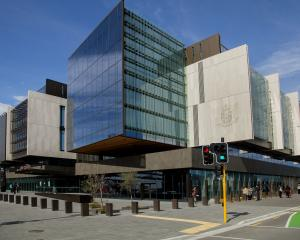 Fletcher Building is being sued over the Christchurch Justice and Emergency Services Precinct.