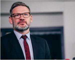 Immigration Minister Iain Lees Galloway. Photo: RNZ