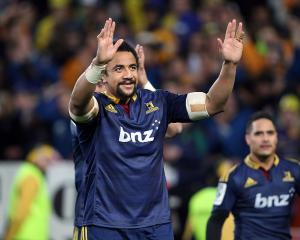 Former Highlanders No8 Nasi Manu will return to the rugby field after overcoming cancer. Photo:...