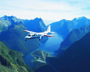 Scenic flight operators in Queenstown Lakes are working with about 5% of their pre-pandemic...