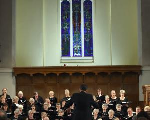 David Burchell conducts the Dunedin Symphony Orchestra and City Choir Dunedin in the Songs for...