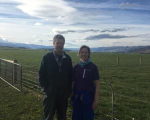 Wendy Hopcroft, pictured with her husband, Bevan, on their Wendonside farm, has been on the Beef ...