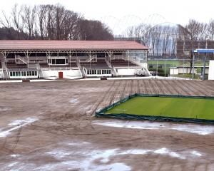 Work upgrading the drainage at the University of Otago Oval got under way early last week. PHOTO:...
