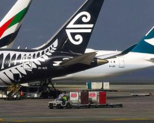Planes on the tarmac at Auckland Airport. Photo: Reuters (file)