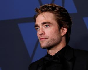 Robert Pattinson is star of The Batman. Photo: Reuters