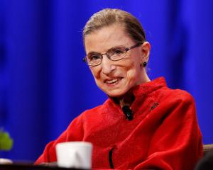 Justice Ruth Bader Ginsburg championed women's rights. Photo: Reuters