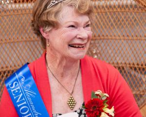 Anne Davies has been named Alexandra Blossom Festival Senior Queen 2020. PHOTO: SHANNON THOMSON