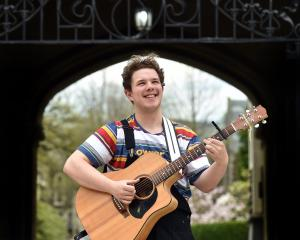 University of Otago singer-songwriter Alex Dykes is about to release his first single about the...