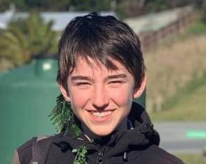 Sebastian Frost, 13, suffered fatal injuries when he fell 30 metres while out for a family walk...