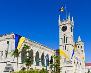 The parliament building in Bridgetown, Barbados. Photo: Getty Images