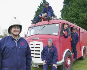 The unofficial Lawrence Gamecock Fire Brigade is due to start restoring its classic 1959 Karrier...