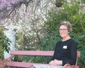 Rural Women New Zealand Mid Canterbury provincial president Marg Verrall in the grounds of...