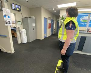 Staff are being temperature-tested with a new heat camera which records as soon as they walk into...