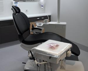 One of the new dental chairs in the University of Otago's clinical services building. The chairs...