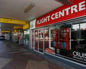 More than half of Flight Centre's stores could close. Photo: Michael Cunningham