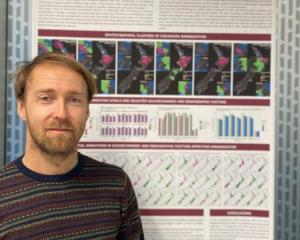 Dr Lukas Marek. Photo: Canterbury University
