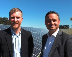Thomas Nash, a councillor at the Greater Wellington Regional Council (left) and Green Party co...