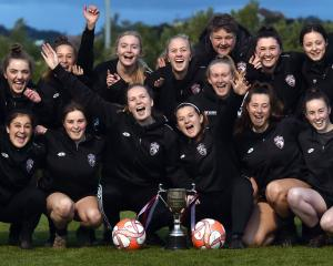 Dunedin Technical has won the Women's Premier League for an eighth consecutive year.  PHOTO:...