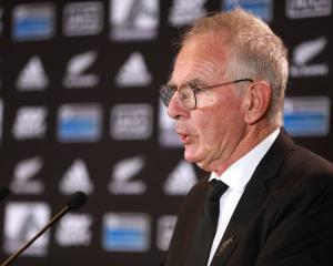 New Zealand Rugby chairman Brent Impey  Photo: Getty