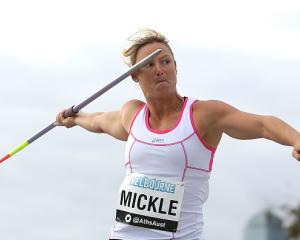Kim Mickle. Photo: Getty Images
