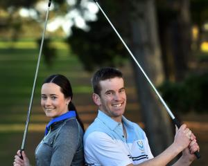 Abigael and Matt Crawford will be lining up in Otago teams at St Clair Golf Club this weekend...