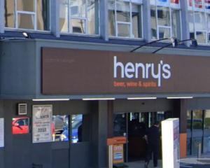 A man was trespassed from Henry's in Dunedin. Image: Google