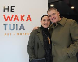 Invercargill residents Andrea Jerry Ryan and Tony Ryan were among the first people to see the...