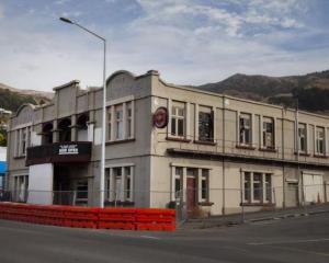 The historic Mitre Hotel in Lyttelton. Photo: Supplied
