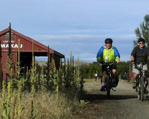 If you're a cyclist, you can't miss the Otago Central Rail Trail. PHOTO: STEPHEN JAQUIERY