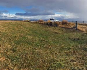 Lamb Hill, near Hindon, where construction of MetService's new weather radar is taking place....
